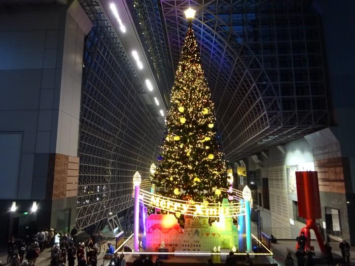 京都駅ビル クリスマスイルミネーション